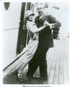 Arthur Murray on Ship